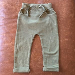 Old Navy green joggers
